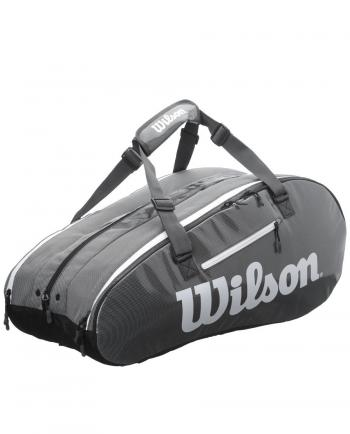 Bao vợt tennis Wilson Super Tour 2 Comp BKGY Large