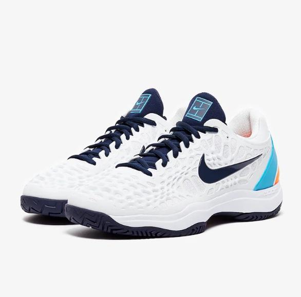 Giầy Tennis Nike Zoom Cage 3 HC Trắng | VietSport