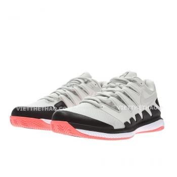 Giầy Tennis Nike Air Zoom Vapor X Bone/Black/Lava