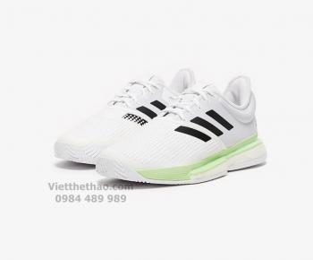 Giầy Tennis Adidas Solecourt Boost Trắng