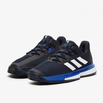 Giầy Tennis Adidas SoleMatch Bounce Xanh