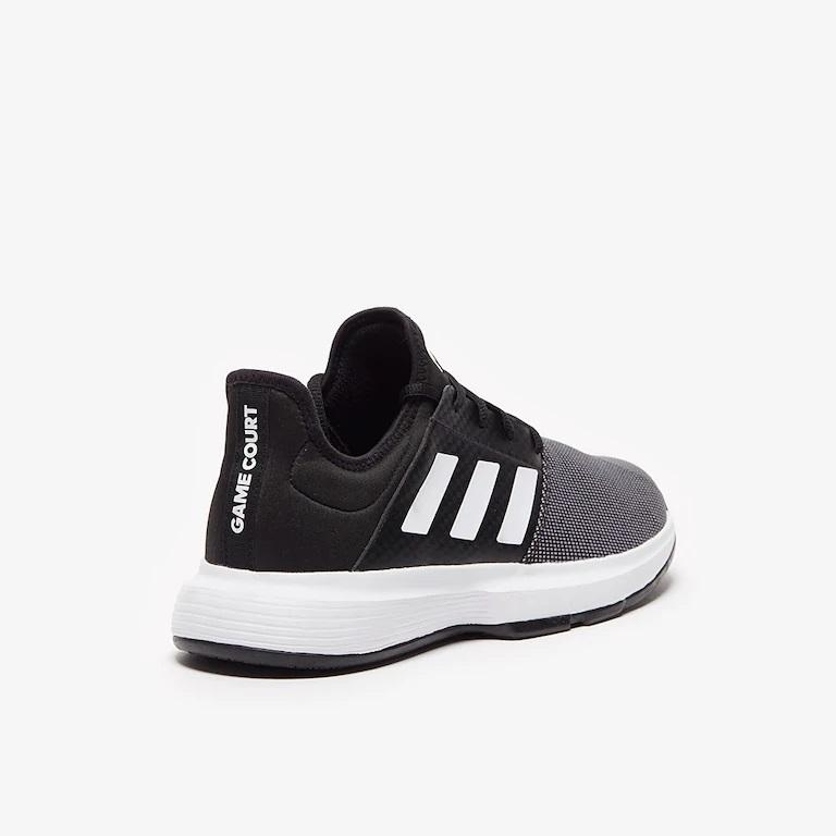 Giầy Tennis Adidas Game Court Core Đen/Ghi/Trắng