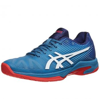 Giầy Tennis Asics Solution Speed FF Blue/Red